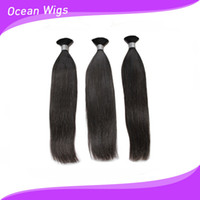 Wholesale Brazilian virgin hair bulk straight hair inch natural color human hair extension washable tangle free can dye different colors