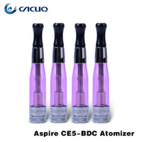 Cheap Replaceable ego ce5 clearomizer Best 1.8ml Plastic ce5 vaporizer