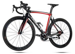 Wholesale 2015 best sale weave k glossy black red full bike Pinarelloe dogma Carbon Road Bike ULTEGRA groupset racer Full Bikes Colnago Bike