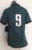 Wholesale Women Eagles Nick Foles Green Football Elite Jerseys Men Women Youth Kids Stitched Jersey Size Drop Shipping
