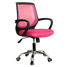 Wholesale Home computer chair swivel chair mesh ergonomic computer chair lift staff chair office chair fashion