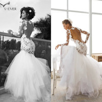 Cheap Mermaid Wedding Dresses Best Backless Wedding Dress