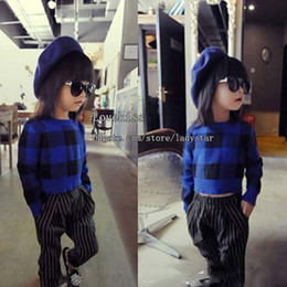 Wholesale Children Sweater Pullover Spring Autumn Knitted Sweater Girls Pullover Wool Sweaters Kids Pullover Girl Dress Children Clothes Kids Clothing