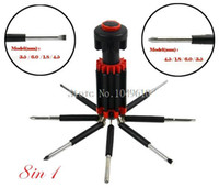 Wholesale New in Multi fuctional Portable Screwdriver set with LED Torch Tools Set