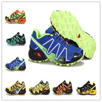 Wholesale new arrival Men solomon trail running trail racing shoes outdoors running shoe cross country running shoe