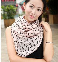 Wholesale HOT SALE Butterfly Scarves women winter scarf velvet chiffon Bohemia fashion style silk scarf