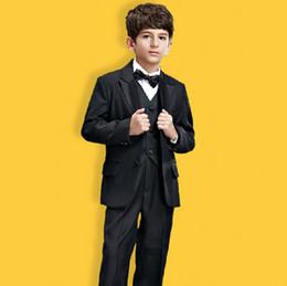 Wholesale 2015 Kids Tuxedo Set Wedding Boys Suits Three Pieces for Handsome Boy Kids Wedding Party