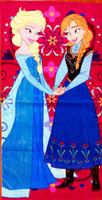 Wholesale 150 cm Christmas Frozen Towels Elsa Anna Soft Children Shower Towels Beach Bathing Towels Hot Sales F130