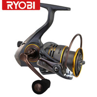 Cheap Original RYOBI SLAM 3000 Titanium Alloy Main shaft Super light material spinning fishing reels,247g,Free shipping