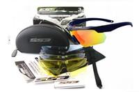 al por mayor gafas ess-5 lente ESS Crossbow gafas gafas militares táctico táctico balística disparar gafas al aire libre gafas de sol
