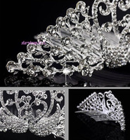 Cheap shining Best crystal tiara