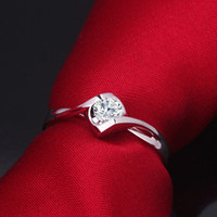 lab created - Hot Sale K White Gold Heart Shape Ct Lab Created Moissanite Engagment Rings For Women Gift
