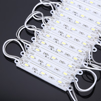 achat en gros de lumière fil jaune-Module d'éclairage LED, superbright étanches SMD5630 LED SMD 5730 module d'éclairage, Blanc / Rouge / Jaune / Bleu / Vert, DC12V, Haute Qualité + Livraison gratuite