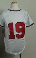 Free Shipping Youth Kids #19 Andrelton Simmons White 2014 Ba...