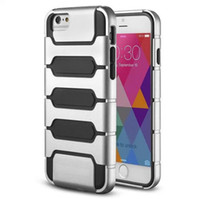 Dual Layer Hybrid Armor Plastic TPU Case For Iphone 6