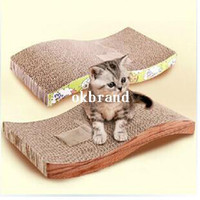 Wholesale S styles Comfort Pet Cat Scratcher Bowls scratch post claws grinding Cat climbing Supplies CAT TOYS