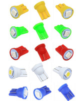 Wholesale Colorful T10 SMD LED W5W Car Side Wedge Tail reading Light Lamp universal car indicate Bulb
