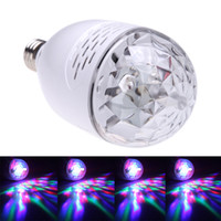 Wholesale Audio Bulb Wireless Speaker RGB LED Light Bulb Lamp W V Support TF USB FM Radio with Remote Control Led Stagelight ZE