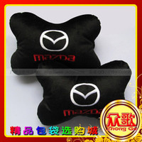 Wholesale Mazda factory direct car logo Buick car headrest care occipital bone pillow for car loading