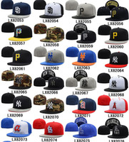 Wholesale Cheap Fitted Hats All Teams Baseball Caps High Quality Fitted Caps High Quality Sports Caps Team Hats Flat Caps Many Styles Allow Mix Order