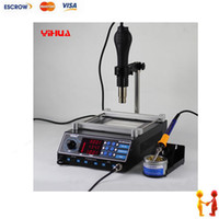 Cheap YIHUA-853AAA BGA Preheating Station Rework Station, hot air gun. desoldering station