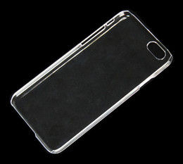 Wholesale Crystal Hard Plastic Clear Transparent Black White Back cover case for iphone G Plus Inch Inch iPhone S C