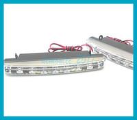 pcs lot 8 SMD Universal Car Light Super White LED Daytime Ru...