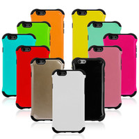 Hybrid Armor Hard Soft Combo Dual Layer Case Cover for iPhon...