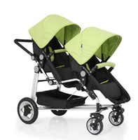 KDS01 stroller baby - Twins Baby Stroller Double Front and Rear Folding Child Stroller