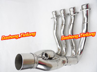 Exhaust System - For Suzuki GSXR K6 Exhaust System Downpipes Headers Pipe Stainless Steel