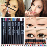 12pcs Mix Lots Tool Pro Glitter Cosmetic Makeup Eyeliner EYE...
