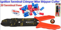 wire terminals - Ignition Terminal Crimper Cable Wire Stripper Cutter Plier Free Terminals