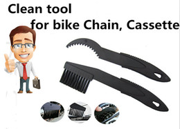 Wholesale Bicycle Chain Cassette Cleaner Cycling Bike Brushes Machine Scrubber Wash Tool Kit Clean Box Mountain Road bike