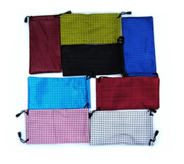 Wholesale Competitive Price Hot Sale cm Waterproof Sunglasses Pouch Soft Cloth Eyeglasses Bag Glasses Case Many Colors Mixed