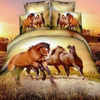 Cheap oil print Leopard animal 4pc bedding set 3D MEN Quilt Duvet cover bedsheet sets cotton king queen bed linen sets Luxury bedcover