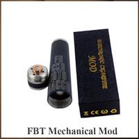 Full mechanical uptwon fbt mod electronic cigarettes 18650 battery