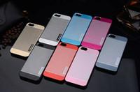 Wholesale - For iPhone 6 MOTOMO Metal Aluminium Alloy + PC C...