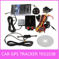 Wholesale TK103B Car GPS Tracker With Remote Control GPS GSM GPRS Car Alarm System