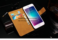 Cheap For Apple iPhone 6 Wallet Case iPhone 6 4.7 Best Genuine Leather White For iPhone 6 Leather Bag