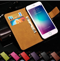 Wholesale Genuine Leather Wallet With Stand Case For iPhone S Plus iPhone s SE s Phone Bag With Credit Card Holder