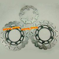 brake disk - Motorcycle Front Rear Brake Disk Rotors Parts For YAMAHA YZF R1 FAZER FZ8