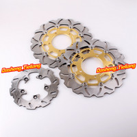 Wholesale Front Rear Brake Disc Rotors for Suzuki GSXR GSXR Motorcycle Disc Parts Accessories