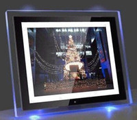 Wholesale 10 quot Hot selling charismas gift digital frame HD cortex project TFT LED A screen digital photo frame