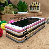 Wholesale - iphone6 Aluminum Bumper Frame Case for iphone6 P...