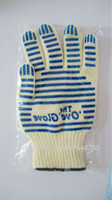 Wholesale Oven Mitts Ove Glove Surface Handler Microwave oven Glove with Non Slip Silicone Grip