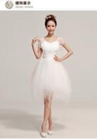 Cheap Pure white wedding dress Best Custom wedding dress