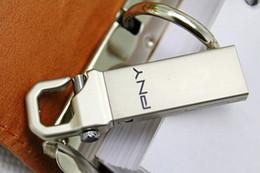 Disque flash haute vitesse en Ligne-Métal 64 Go Metal USB (64 Go imperméable à l'eau U disque) Mémoire à haute vitesse 64 Go de mémoire flash disque disque en acier inoxydable KeyChain Fast Dispatc