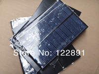 Wholesale HOT Sale W V Solar Cell Solar Panel DIY Solar Charger Polycrystalline Solar Module For Battery