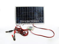 Wholesale w solar panel with charge controlle for v battery to DIY solar product high quality fee ship