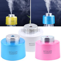 Wholesale Lowest Price Portable USB Water Bottle Caps Humidifier Humidifier Aroma Air Diffuser Mist Steam Maker b7 SV004733